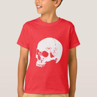 Camiseta Cráneo blanco del vampiro