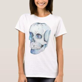 Camiseta Cráneo cristalino agrietado