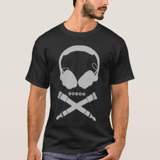 Camiseta Cráneo de DJ