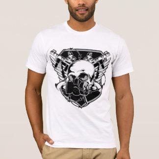 Camiseta Cráneo de la careta antigás
