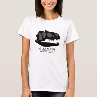 Camiseta Cráneo del Allosaurus