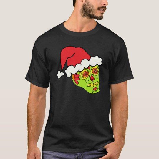 Camiseta Cráneo del azúcar de Santa