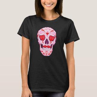 Camiseta Cráneo del azúcar del corazón