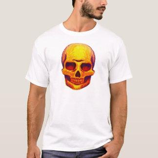 Camiseta Cráneo del bosquejo