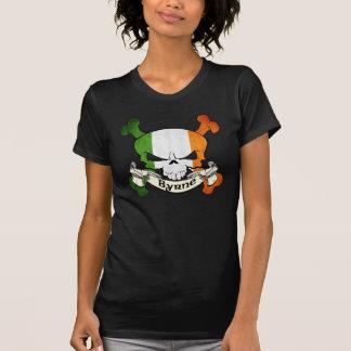 Camiseta Cráneo del irlandés de Byrne