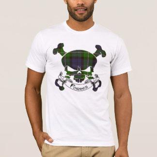 Camiseta Cráneo del tartán de Forbes