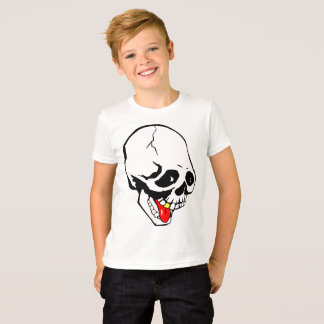 Camiseta cráneo divertido