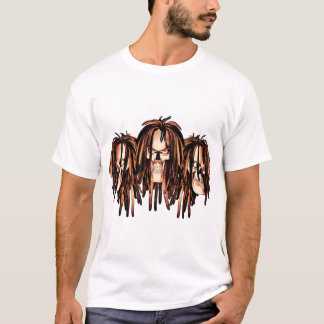 Camiseta Cráneo Dreadlocks