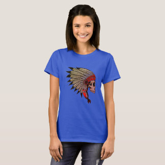 Camiseta Cráneo indio