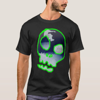 Camiseta Cráneo Parkour invertido