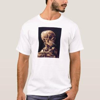 Camiseta Cráneo que fuma de Van Gogh