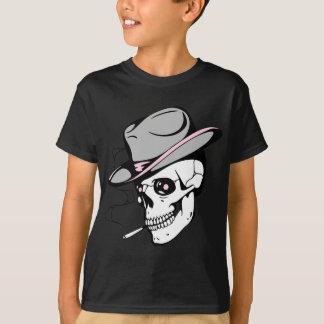Camiseta cráneo rosado del ojo