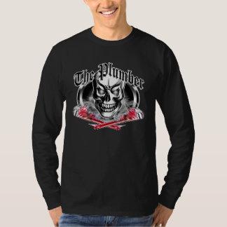 Camiseta Cráneo y llaves que fuman 3,1 del fontanero