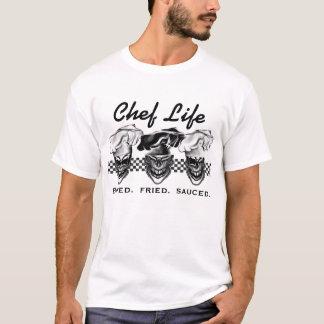 Camiseta Cráneos de risa del cocinero
