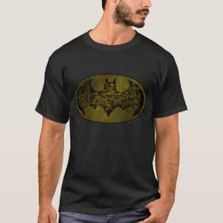 Camiseta Cráneos del símbolo el | de Batman en logotipo del