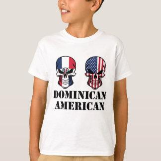 Camiseta Cráneos dominicanos de la bandera americana