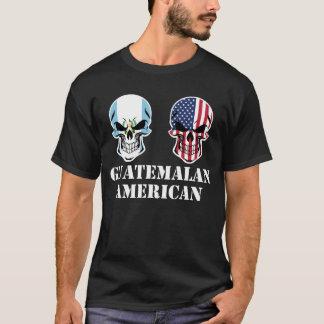 Camiseta Cráneos guatemaltecos de la bandera americana