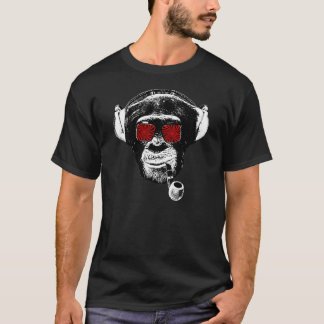 Camiseta Crazy monkey