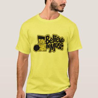 Camiseta Crea en expedientes y cintas de la música