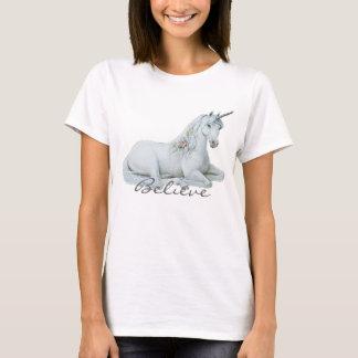 Camiseta Crea la muñeca de las señoras del unicornio