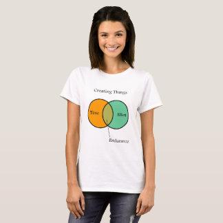 Camiseta Crear el diagrama de Venn de las cosas