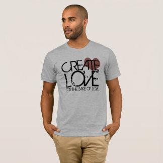 Camiseta Cree el amor por amor