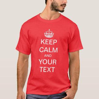 Camiseta Cree/personalizar sus que los propios guardan la