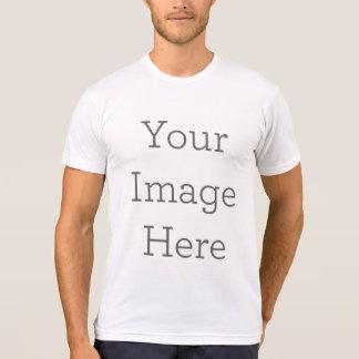 Camiseta Cree su propia mezcla del Polivinílico-Algodón de