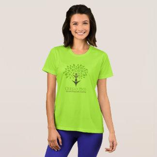 Camiseta CREGO PMD T para mujer verde