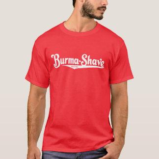 Camiseta Crema de afeitar del Birmania-Afeitado