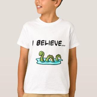 Camiseta Creo en el monstruo de Loch Ness