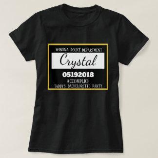Camiseta Criada personalizada del fiesta de Bachelorette de