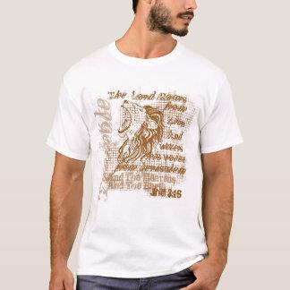 """Camiseta cristiana del rugido de los leones"" Camiseta"