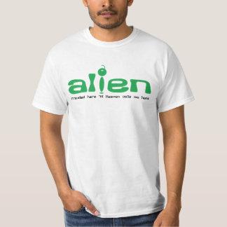 Camiseta cristiana del VALOR:  Extranjero