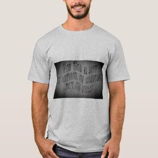 Camiseta cristiana, mensaje poweful