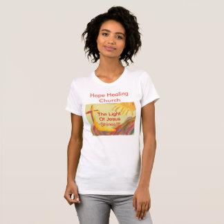 Camiseta cristiana para mujer de Jesús de la