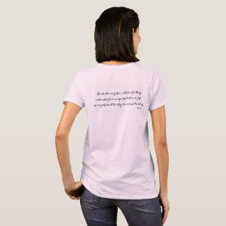 Camiseta Cristiano ÉL CUBRIRÁ THEE