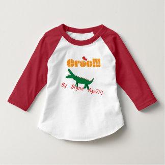 Camiseta ¡Croc! Por la edad 7 de Brynn