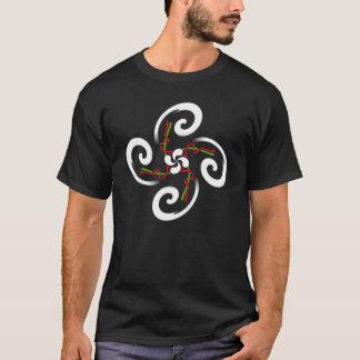 Camiseta croix cruzado basque del lauburu