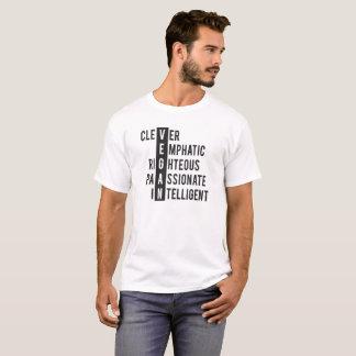Camiseta Crucigrama del vegano