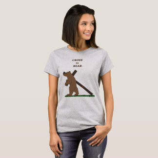 Camiseta Cruz a llevar