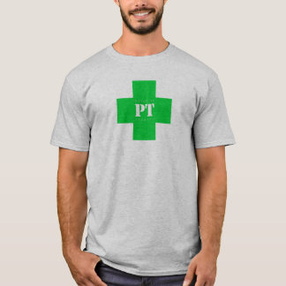 Camiseta Cruz de la pinta, verde