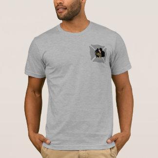 Camiseta Cruz maltesa del rescate del bombero