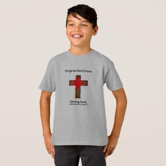 Camiseta Cruz Roja original (muchachos)