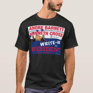 Camiseta Cruz y Andre Barnett de Ken en segundo lugar