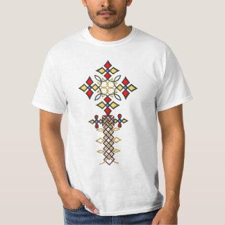 Camiseta cruzada etíope