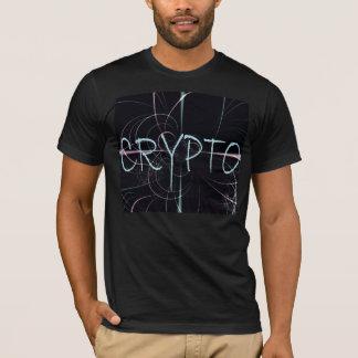 Camiseta Crypto del diseño del fractal de