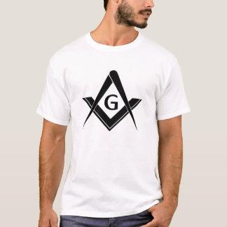 Camiseta Cuadrado y compás modernos