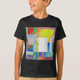 Camiseta Cuadrados abstractos