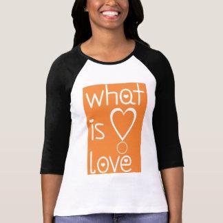 Camiseta cuál es amor